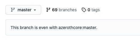 AzerothCore fork updated
